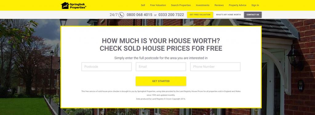 House Price Estimate